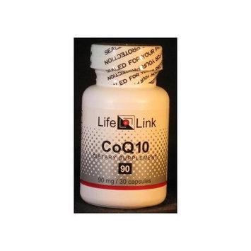 CoQ10 90mg LifeLink 30 Caps