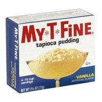 My-t-fine My T Fine Pudding, Vanilla Tapioca, 2.75-Ounce (Pack of 12)