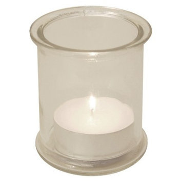 Lumabase Glass Candles Holder - 4 Count