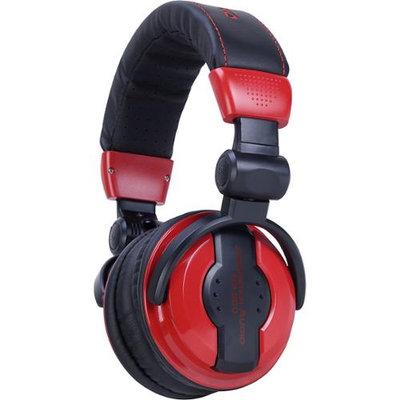 American Audio HP550 Professional DJ Headphones - Lava Red