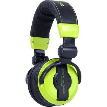 American Audio HP550 Professional DJ Headphones - Lime Green