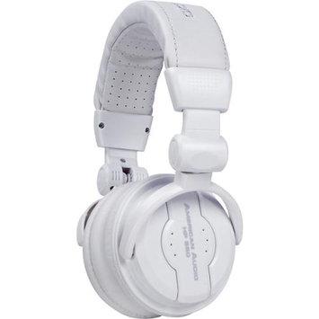 American Audio HP550 Professional DJ Headphones - Snow White