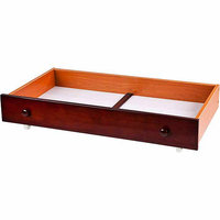 Dream On Me Trundle Storage Drawer for Mini Cribs Finish: Natural