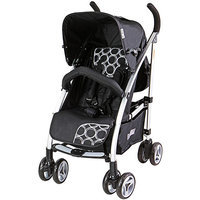 Dream On Me Mia Moda Luna Bella Umbrella Stroller, Cercle Noir