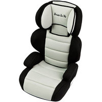 Dream On Me Deluxe Turbo Booster Car Seat - Black and Ivory