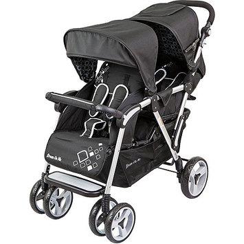 Dream On Me Traveler Lightweight Tandem Stroller Color: Black