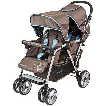 Dream On Me Traveler Lightweight Tandem Stroller Color: Brown