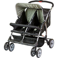 Dream On Me Duplex Stroller Color: Black