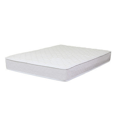 Dream On Me Bedtime 10 Inch Plush Coil Mattress -Queen
