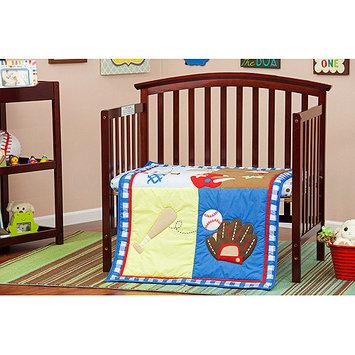 Dream On Me/mia Moda All-Star Athlete 3 Piece Crib Bedding Set