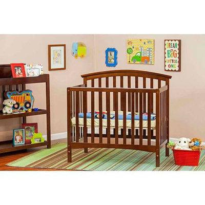 Dream On Me/mia Moda Eden 3 In 1 Mini Convertible Crib Finish: Cherry