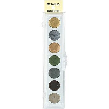 Craf-T 33042 Metallic Rub-On 7 Color Set