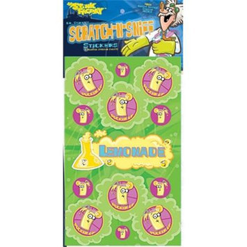 The Stink Facotry 41026 Scratch-N-Sniff Stickers-Lemonade Pack of 10