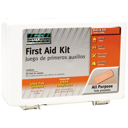 First Aid Kit Small Travel Size 10068529 by MSA Safety Works
