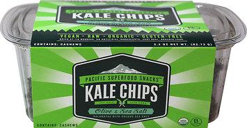 Pacific Northwest Kale Chips Olive & Sea Salt 2.2 oz - Vegan