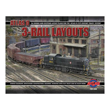 O Layout Book 2nd Edition ATO6008 ATLAS MODEL RAILROAD