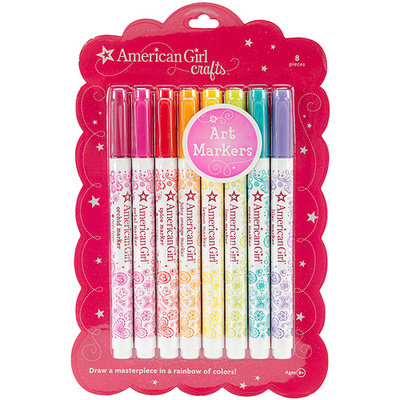 American Girl Art Markers, 8-Pack