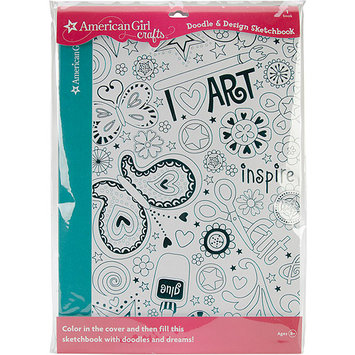 EK Success American Girl Doodle & Design Sketchbook - Art