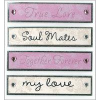 K & Company Dimensional Stickers, True Love
