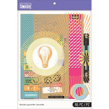 Eksuccess Brands SMASH Blue Folio Bundle-86pcs