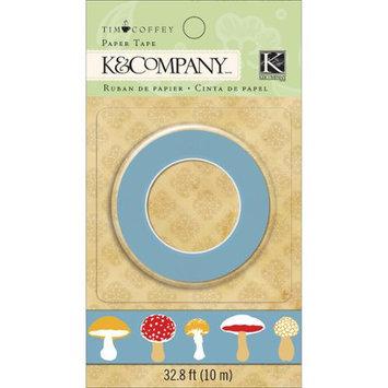 Eksuccess Brands Foliage Paper Tape 32.8 Feet (10m)-Icons