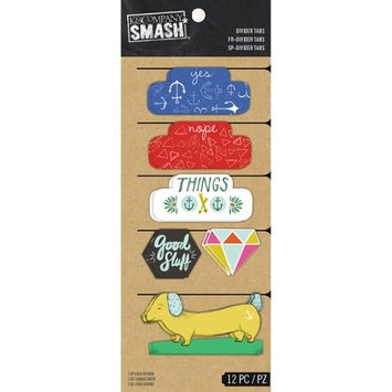 K & Company SMASH Divider Tabs 12/Pkg-Good Stuff