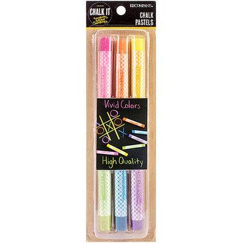K & Company Chalk It Now Chalk Pastels-Colored