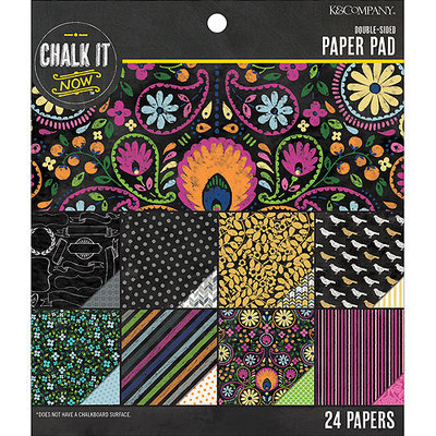 K & Company Chalk It Now Paper Pad