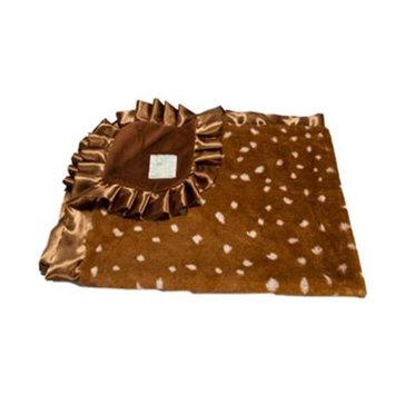 Scene Weaver 71295 Fawn Baby Blanket Brown