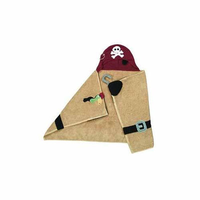 Pickles Pals Pirate Hooded Towel - 27 x 54