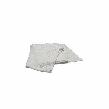 Pickles Christening Baby Blanket - Bamboo Cotton - White