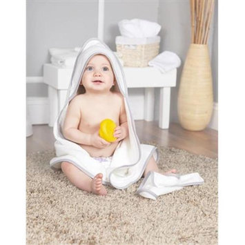Scene Weaver 82089 Gray Baby Hooded Towel Set