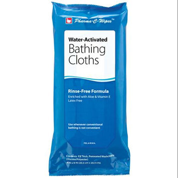 EasyComforts Water Activated No-rinse Bathing Cloths