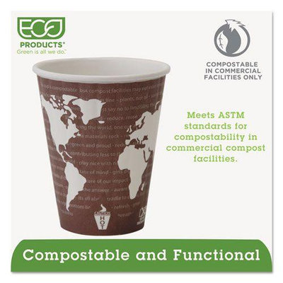 Eco Products World Art Insulated Hot Cups