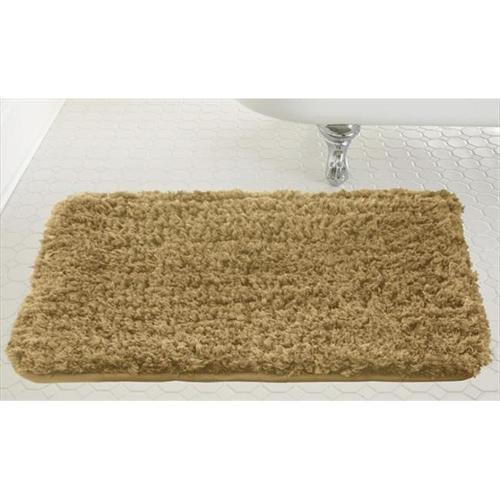 Colonial Textiles Spa Shaggy Memory Foam Bath Mat