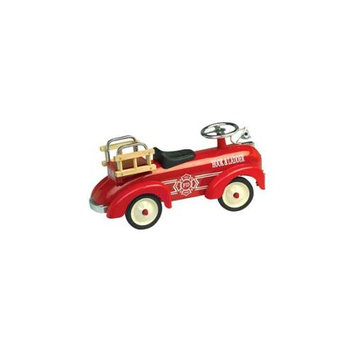 Charm Co. Toddler Speedster Fire Truck in Red - 15 Months & Older