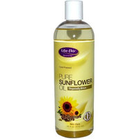 Life Flo Life-Flo Pure Sunflower Oil Liquid, 16 oz, LifeFlo