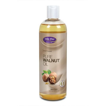 Pure Walnut Oil Life Flo Health Products 16 fl oz Oil