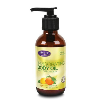 Invigorating Body Oil Life Flo Health Products 4 oz Liquid