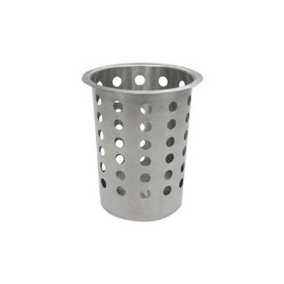 ADCCYLSS - Adcraft Silverware Cylinder; Stainless Steel; 10.12