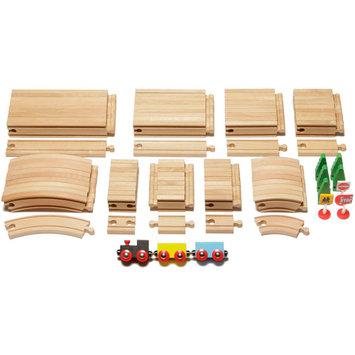 Maxim Enterprise Wooden Tracks 101-pc. Expansion Track Pack