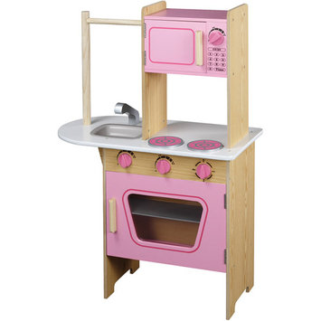 Maxim Enterprise Inc. Maxim Pink Wrap-Around Play Kitchen