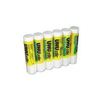 UHU Application Glue Stick - 0.74 oz - 6/Pack - Clear