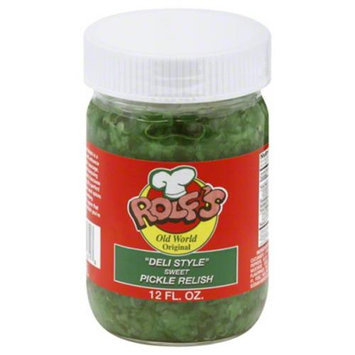 Rolfs Relish Deli Style Sweet Pickle 12 Oz Pack Of 6