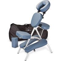 EarthLite Massage Tables Vortex Massage Chair, Hunter