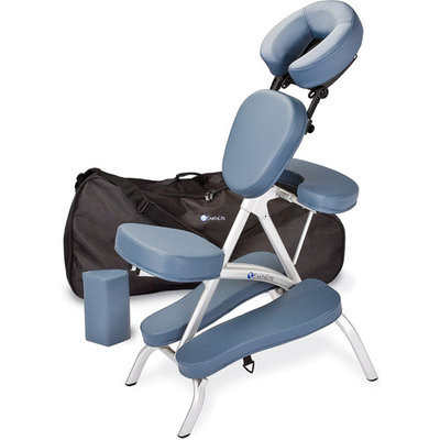 EarthLite Massage Tables Vortex Massage Chair, Maries Beige