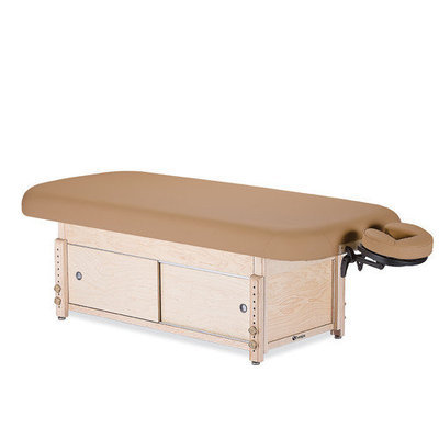 Earthlite Sedona Stationary Table with Cabinet Color: Hunter