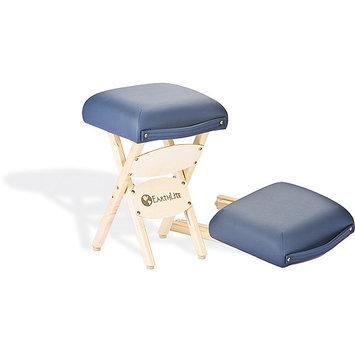 EarthLite Massage Tables Folding Stool, Hunter