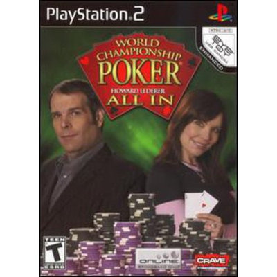Crave Entertainment, Inc. World Championship Poker Featuring Howard Lederer: All In (new)