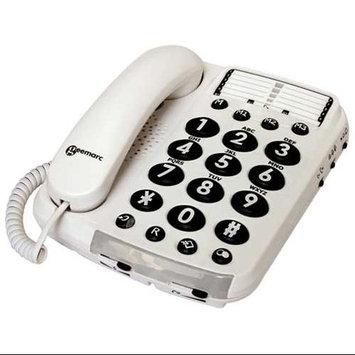 Sonic Bomb GM-AMPLI100VM 40db Amplified Telephone w/Voice Modulat